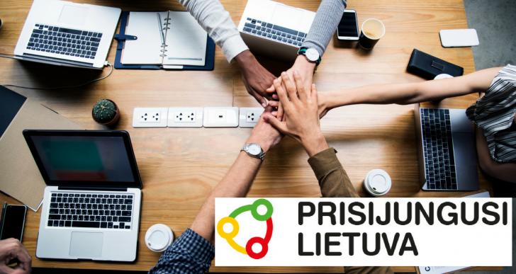 """Projektas """"Prisijungusi Lietuva"""" skirtas bendruomenėms!"""