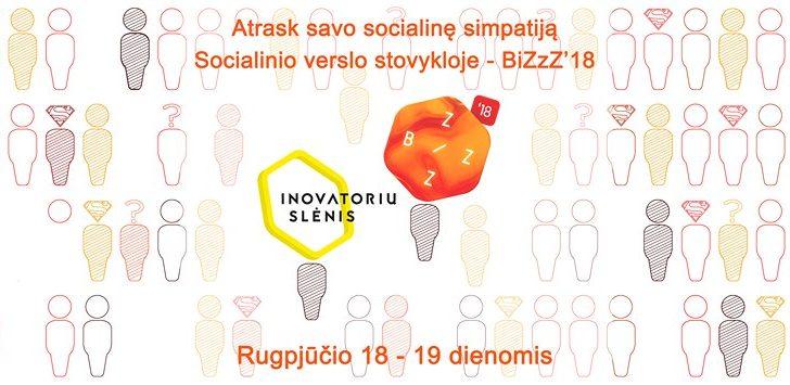 Rugpjūčio 18 dieną vyks 7-asis socialinių inovacijų renginys BiZzZ!