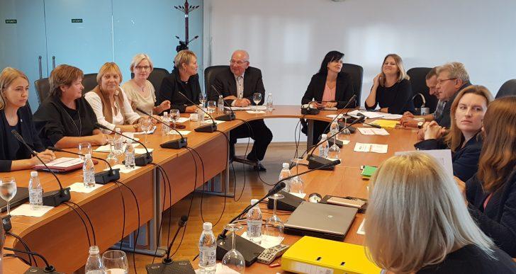 ŽŪM posėdžiavo Lietuvos kaimo tinklo darbo grupė LEADER
