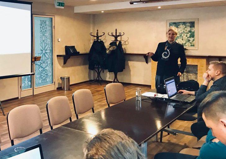 Lapkričio 21 d., Vėžaičių konferencijų centre buvo organizuojami praktiniai mokymai importo ir eksporto temomis