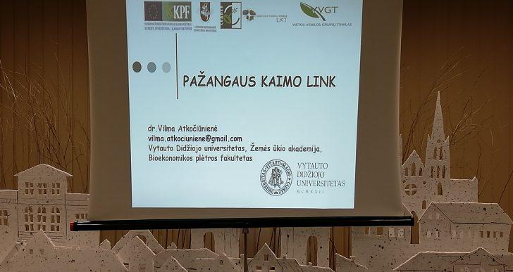 PAŽANGAUS KAIMO LINK